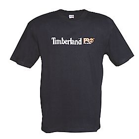 "Timberland Pro 306 T-Shirt Black X Large 43-46"" Chest"
