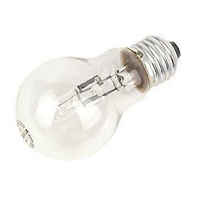Sylvania Halogen Eco Ball Lamp ES 630Lm 42W