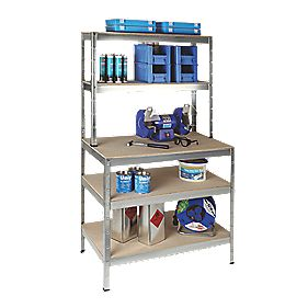 RB Boltless Freestanding Workbench & Shelving