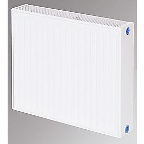 Flomasta Type 22 Double Panel Double Convector Radiator White 500 x 600mm