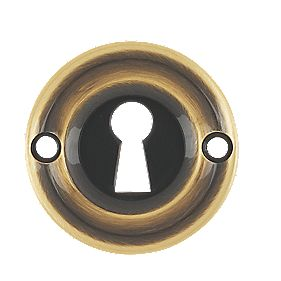 Carlisle Brass Standard Key Escutcheon Florentine Bronze 42mm