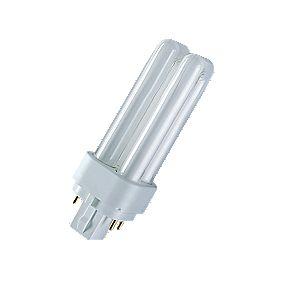 Osram TC-DEL Compact Fluorescent Lamp G24Q 4-Pin 1200Lm 18W