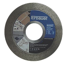 Erbauer Diamond Tile Blade 80mm
