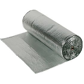 Ybs Airtec Double 1 5 X 25m Loft Insulation Screwfix Com