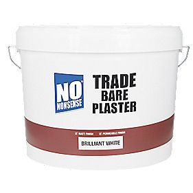 No Nonsense Trade Bare Plaster Paint Brilliant White 10Ltr