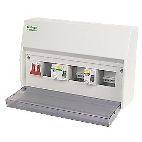 Crabtree 8-Way Fully Insulated Consumer Unit