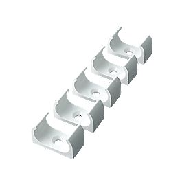 Tower Oval Conduit Clips 20mm Pack of 5