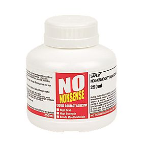 No Nonsense Contact Adhesive Beige 250ml