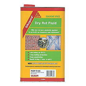Sika Sikagard Dry Rot Fluid Clear 5Ltr
