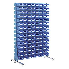 MDS1.5 Spacemaster Double-Sided Storage Bin Kit 240 x TC2 Blue
