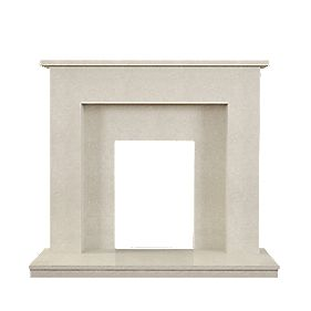 Be Modern Rosa Manila Micro Marble Fire Surround