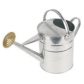 Apollo Galvanised Watering Can 9Ltr