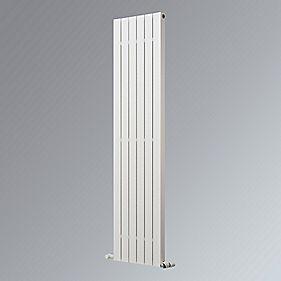 Oceanus Deluxe Vertical Designer Radiator White 1800 x 295mm 2173BTU
