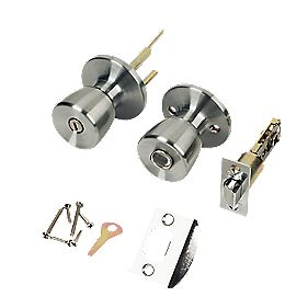 ERA Mortice Knob Privacy Set Satin