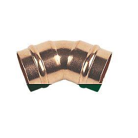Solder Ring Obtuse Elbow 22mm