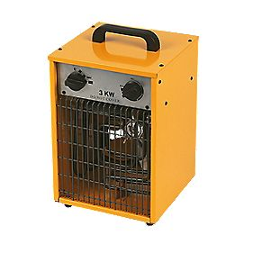 Master Electric Fan Heater Variable Heat 1.65-3.3kW