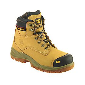 CAT Spiro Safety Boots Honey Size 12