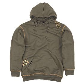 MASCOT BEJA HOODED SWEATSHIRT DARK OLIVE MEDIUM