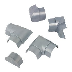D LINE Accessory Pack Aluminium 50 x 25mm 5Pcs