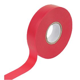 WorkPro Insulation Tape Red 19mm x 33m