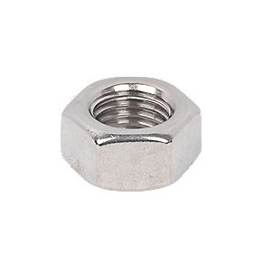 Hex Nuts A4 Stainless Steel M16 Pack of 50
