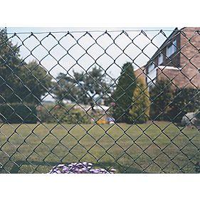 Plastic-Coated Chain Link Fencing 10 x 1.2m
