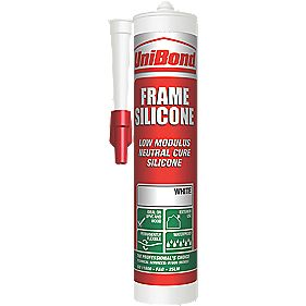 UniBond Frame Silicone Sealant White 300ml