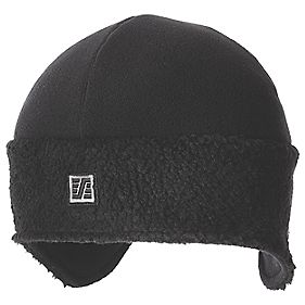 Snickers Pile Fleece Beanie Hat Black