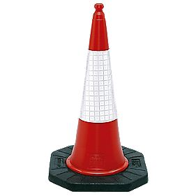 JSP Dominator Two-Piece Cones 1000mm Pack of 2
