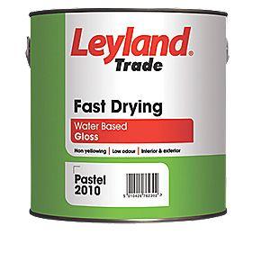 Leyland Trade Fast Drying Gloss Paint White 750ml Gloss Paints