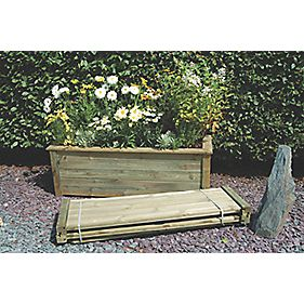 Forest Bamburgh Planter 1.5 x 0.5 x 0.5m