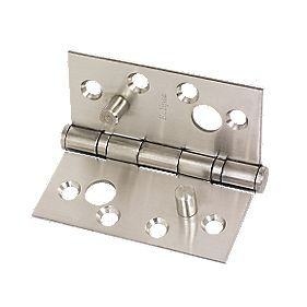Eclipse Grade 13 Security Hinge Satin Stainless Steel 102 x 102mm Pack of 2
