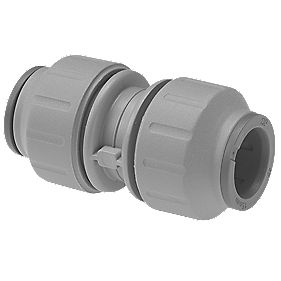 JG Speedfit PEM0410DGP Straight Connector Grey 10mm