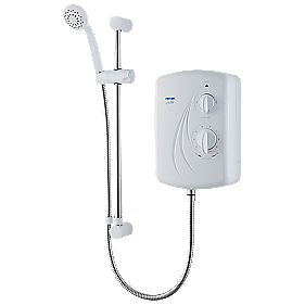Triton Enrich Electric Shower White 8.5kW