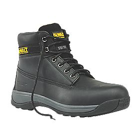 DeWalt Apprentice Safety Boots Black Size 8