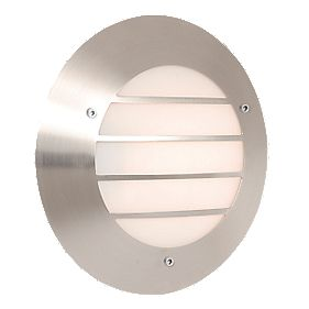 Memphis Stainless Steel Circular Wall Light 23W