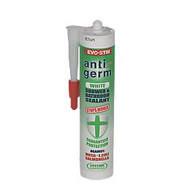 Evo-Stik Anti-Germ Bathroom White 290ml