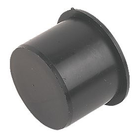FloPlast Pushfit Socket Plug Black 40mm
