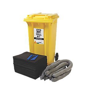 Lubetech Black & White Maintenance Spill Response Kit 240Ltr