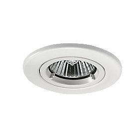 JCC Fireguard Fixed Fire Rated Recessed Downlight White 240V