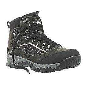 Site Quartz Safety Boots Grey Size 7