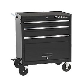 Hilka Pro-Craft 3-Drawer Professional Roll Away Cabinet