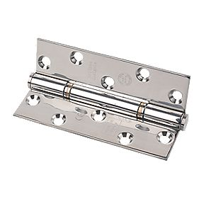 Eclipse Insignia Thrust Bearing Hinge Polished Steel 127 x 76mm Pk2