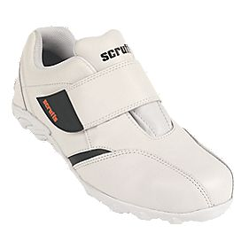 Scruffs Horizon Safety Trainers White Size 8