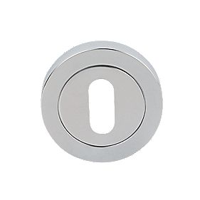 Carlisle Brass Standard Key Escutcheon Chrome-Plated 50mm