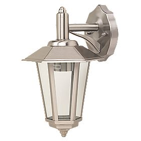 Wall Lantern Hanging Stainless Steel 60 W
