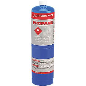 Rothenberger Propane Disposable Gas Cylinder 400g Pack of 6