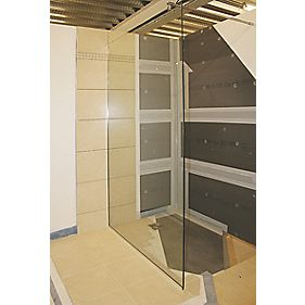 Aquadry Wetroom Level Access Kit 1200 x 900 x 30mm