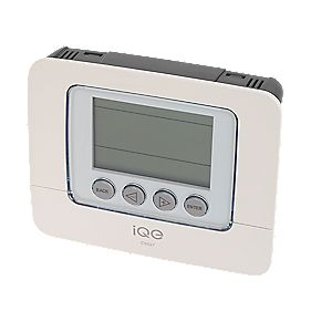 iQE 7 Day Programmable Room Thermostat with Li-Ion Battery Back-Up