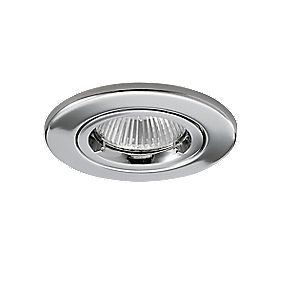 JCC Fireguard Fixed Low Voltage Fire Rated Recessed Downlight Chrome 12V